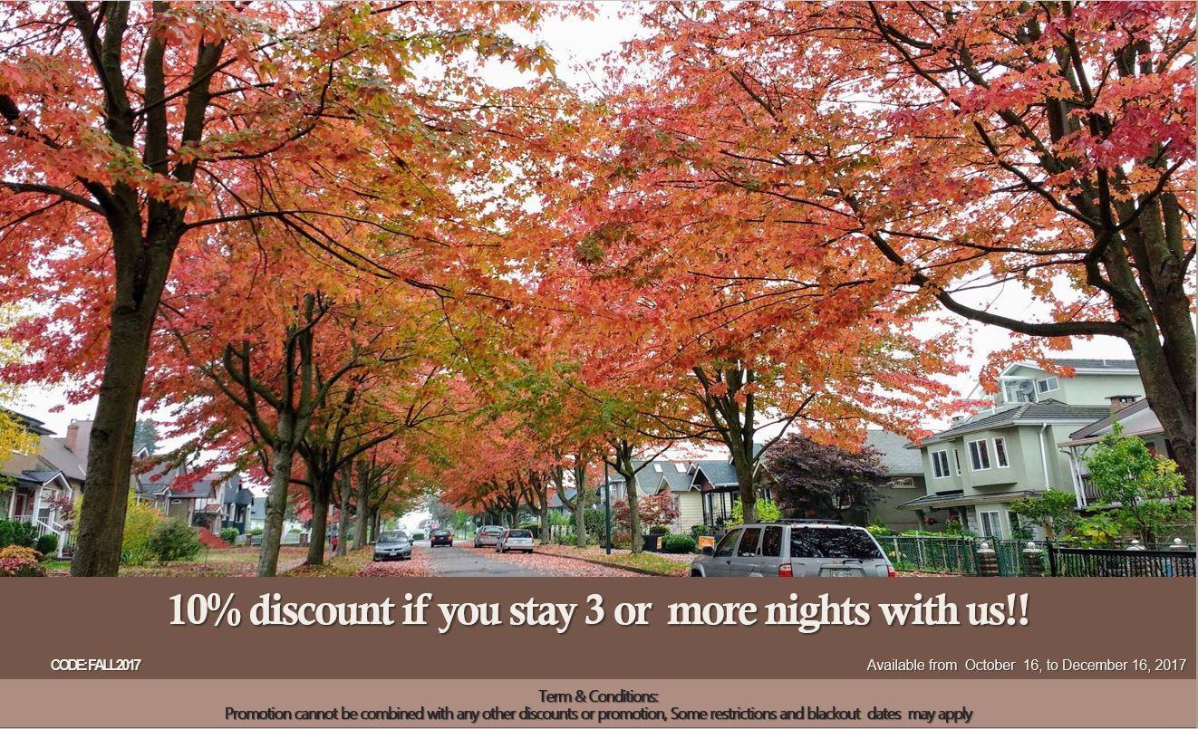 Fall discount 2017
